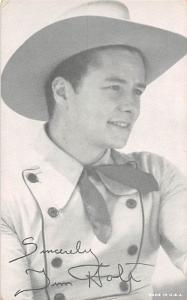 Jim Holt Western Actor Mutoscope Unused