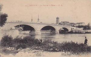 Bridge, Le Pont Sur Le Rhone, Valence (Drome), France, 1900-1910s