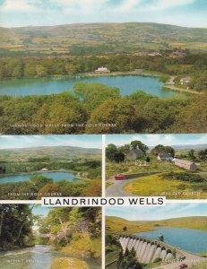 Llandrindod Wells From The Golf Course 2x Postcard s