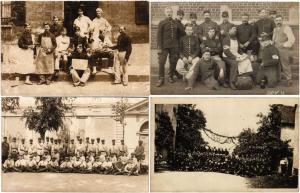 MILITARY 23 CARTE PHOTO CPA pre-1940