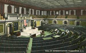 DC - Washington. Hall of Representatives, Interior