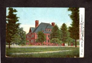 NH High School Plymouth New Hampshire Vintage Postcard UDB