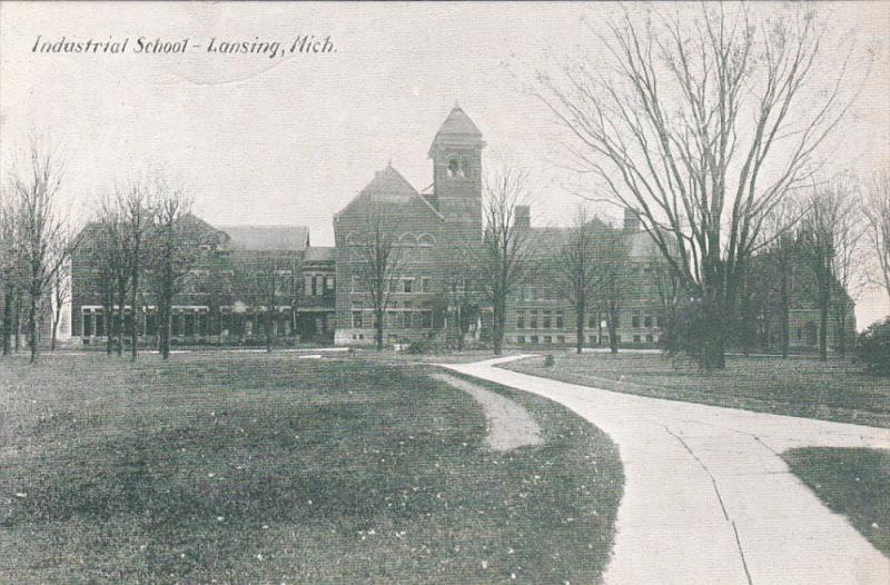 LANSING, Michigan, 1900-1910´s; Industrial School