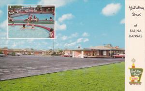 SALINA, Kansas, 1940-1960's; Holiday Inn, Swimming Pool, U.S. Highway 81