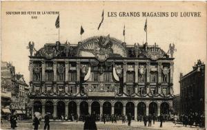 CPA PARIS (1e) Souvenir Fetes de la Victoire Grands Magasins du Louvre (562422)