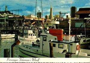 Californoa San Francisco Fisherman's Wharf 1978