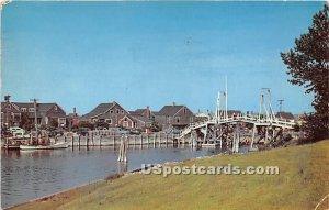 Fishing Village and Footbridge at Perkins Cove in Ogunquit, Maine