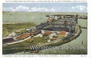 Republic of Panama, República de Panamá Cristobal Coaling Plant Canal Zone
