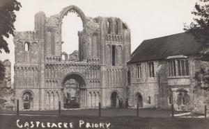 Castleacre Priory Real Photo Postcard