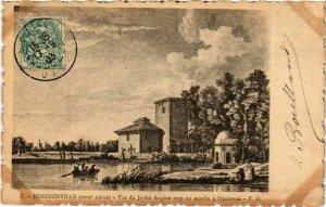 CPA Ermenonville- vue du Jardin Anglais FRANCE (1020465)