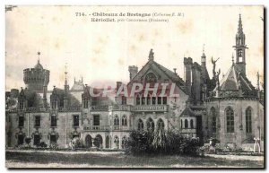 Old Postcard Castles of Britain Keviollet near Concarneau (Finistere)