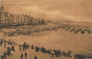 Belgium Ostende La plage a midi 02.74