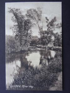 Surrey GUILDFORD River Wey c1909 Postcard by Frith 61893