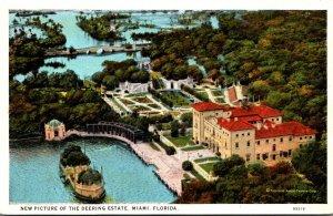 Florida Miami Deering Estate Aerial View Curteich