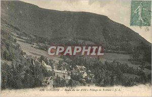 Postcard Old Lake Road Luchon Oa