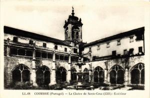 CPA Coimbra- Le Cloitre de Santa Cruz, PORTUGAL (760789)