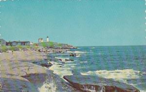 Maine York Beach Nubble Lighthouse