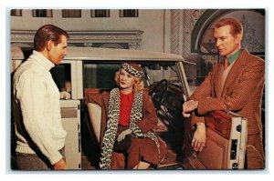 Postcard Gary Cooper Carol Lombard & Clark Gable Showcase 1932 Duesenberg TX J24