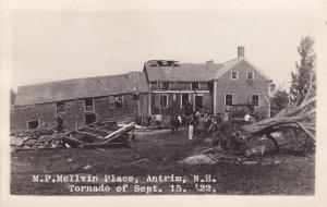 RP: M.P. McIlvin Place , ANTRIM , New Hampshire , Tornado of Sept 15 , 1922 ; 3/
