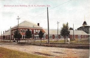 Corvallis, Oregon Antique Postcard (T640)