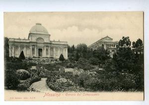 192066 ITALY MESSINA Entrata del Camposanto Vintage postcard