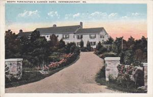 Maine Kennebunkport Booth Tarkington's Summer Home 1924