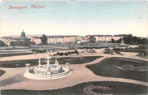 The Park Devonport United Kingdom, Great Britain, England 1904