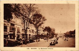 CPA INDOCHINE Saigon - Le Boulevard Charner (256848)