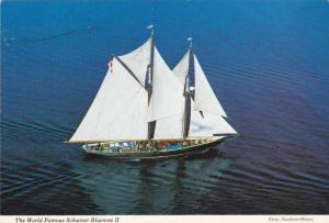 The World Famous Schooner Bluenose II, Pride Of Nova Scotia, Canada,70-80