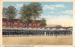 Berkley Virginia drill at US Training School antique pc Y13201