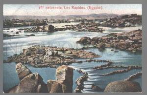 099053 EGYPT 1er cataracte Les Rapides Vintage colorful PC