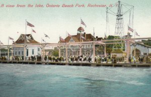 ROCHESTER , New York , 1900-10s ; Ontario Beach Amusement Park