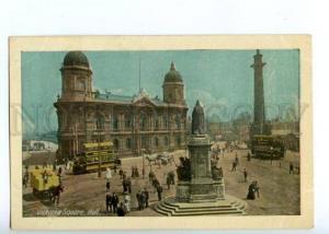 144621 UK ENGLAND HULL Victoria Square Vintage postcard