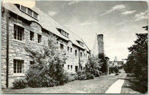 Lemay, Missouri Postcard WHITE HOUSE RETREAT 51 Private Rooms - Dorm Building