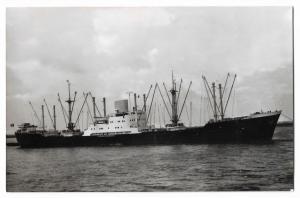 m.s. Liege Ship Boat Nautica RPPC 01.17