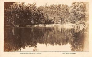 Belgrave Victoria Australia scenic view of the reservoir real photo pc Z21026