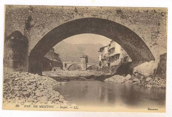 Sospel, Env. De Menton (Alpes Maritimes), France, 1900-1910s