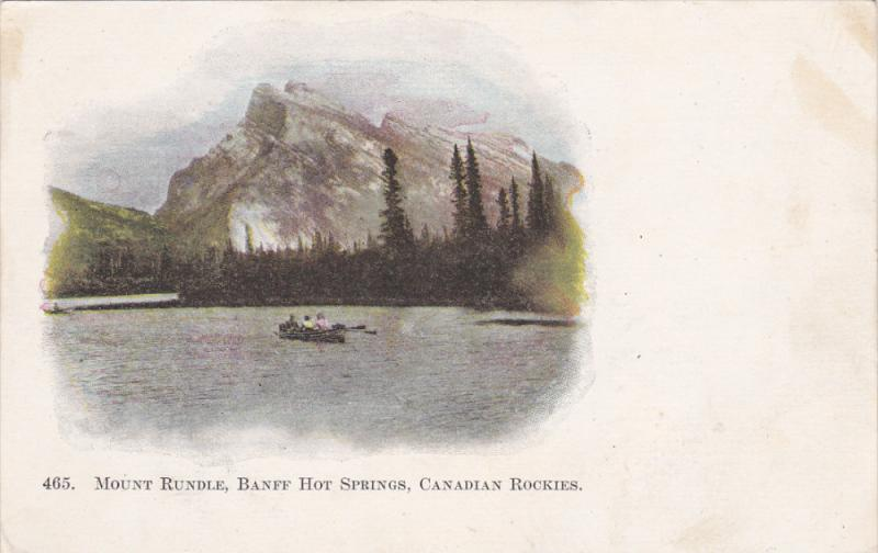 Mount Rundle , Banff Hot Springs , Canadian Rockies , Canada , Pre-1907
