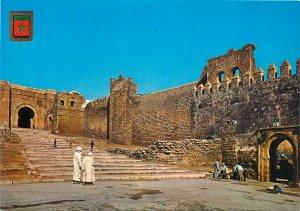 Postcard Morocco Rabat Casbah des Oudais gates