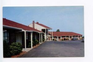 Fort Lee NJ Motel Old Cars Postcard