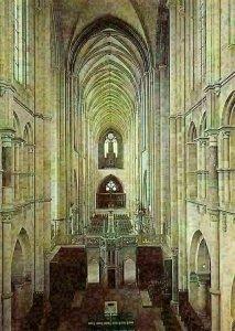 Magdeburg Dom Mittelschiff Durchsicht nach Westen Cathedral Interior