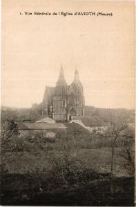 CPA Vue Generale de l'Eglise d'Avioth (391654)