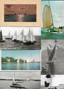Nautica Sailboats Postcard Lot of 40 Lot of 40 Postcards 01.08