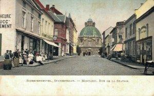 Belgium Scherpenheuvel Statiestraat 06.82