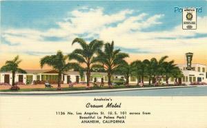 CA, Anaheim, California, Crown Motel, US 101, Colourpicture No. K5916
