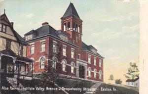 Alsa Packer Institute Valley Avenue u. Nesquahoning Streets, Easton, Pennsylv...