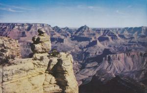 GRAND CANYON, Arizona, 1940-1960's; Grand Canyon National Park