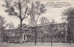 Nassau Hall Princeton University Princeton New Jersey Albertype