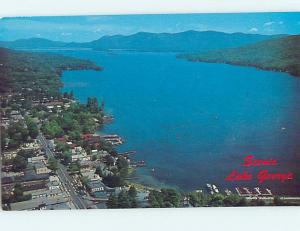 Unused Pre-1980 WATER SCENE Adirondacks - Lake George New York NY hk2492-12
