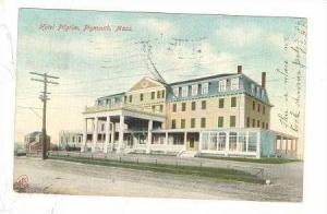 Hotel Pilgrim, Plymouth, Mass., PU-1906